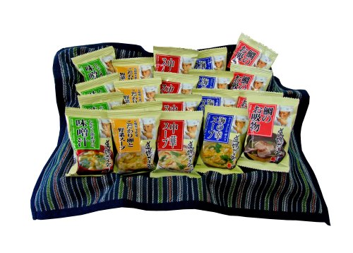 【Amazon.co.jp限定】(お徳用ボックス)道場六三郎スープ 20食詰合せ