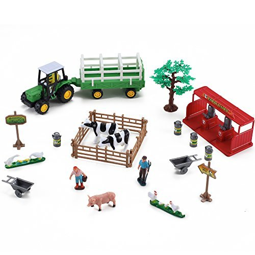 Farming-Fun-Playset-with-Tractor