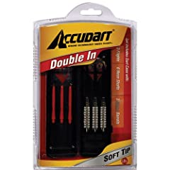Buy Accudart Double-In Set - Soft Tips by Accudart