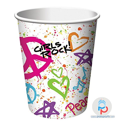 Totally 80s Hot/Cold Cup 9 oz (8) Party Supplies by Creative Converting