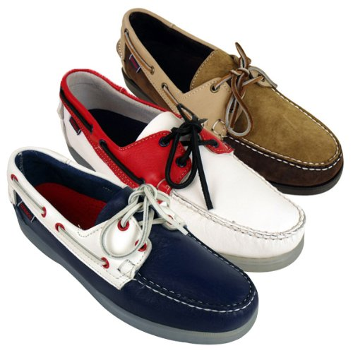 Mens Sebago Docksides Spinnaker Leather Boat Shoe Loafer Deck Shoes Size Uk 6-11