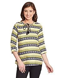 Shakumbhari Women's Body Blouse Shirt (SW-733Y-XL_Yellow)