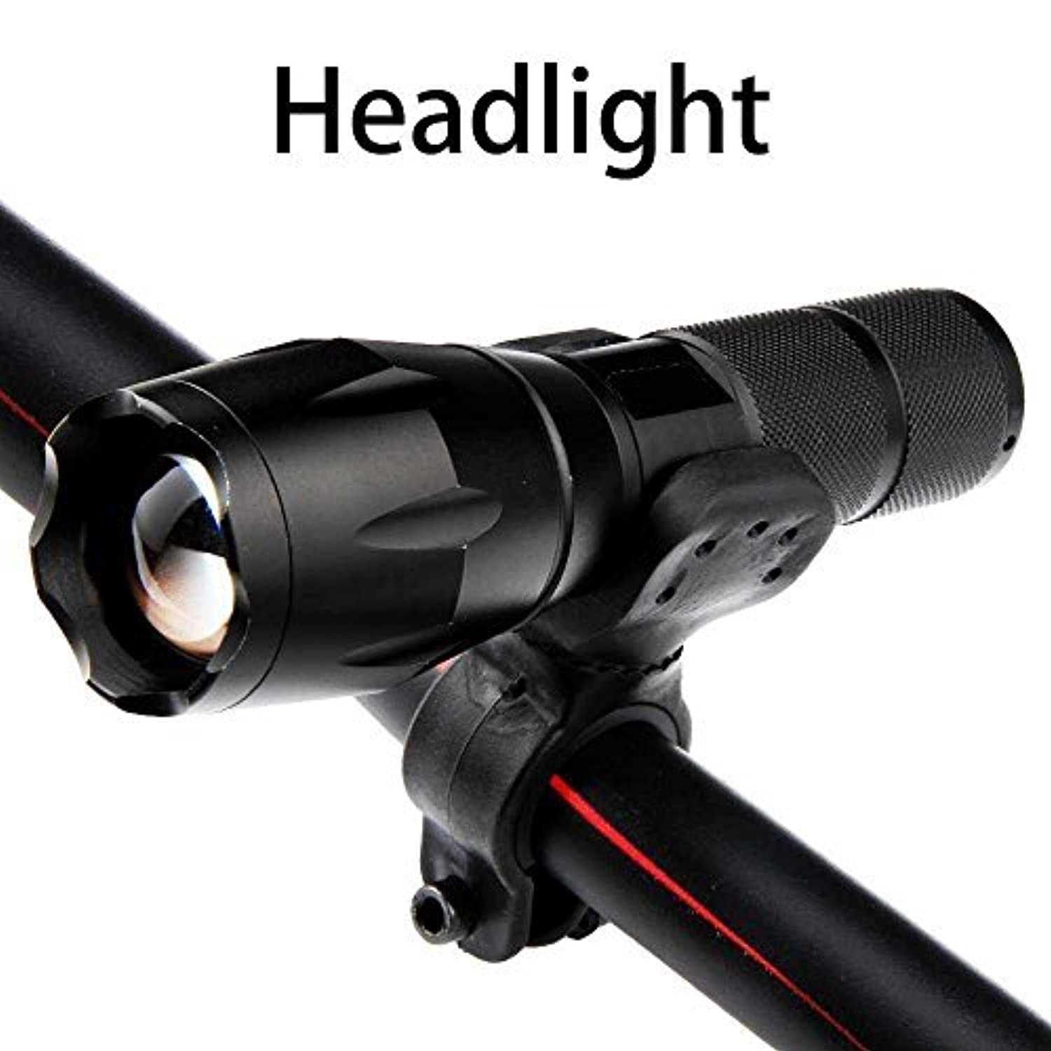 TianNorth? CREE XM-L T6 Zoomable LED Flashlight Bike ...