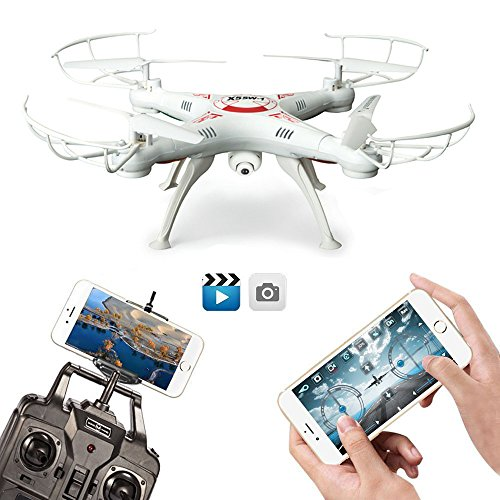 FengLan-Remote-Control-Mode-4-Channel-24G-6-Axis-Gyro-RC-Headless-Quadcopter-X5SW-1-Drone-UAV-with-2MP-HD-Wifi-Camera-FPV-for-Real-Time-Video-Transmission-White