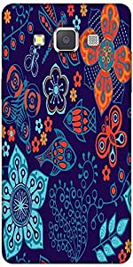 Snoogg Colorful Floral Seamless Pattern In Cartoon Style Seamless Pattern Sol...