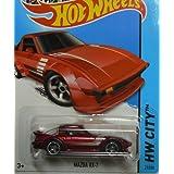 Mattel Hot Wheels Hw City 21/250 - Mazda Rx-7 (Red)