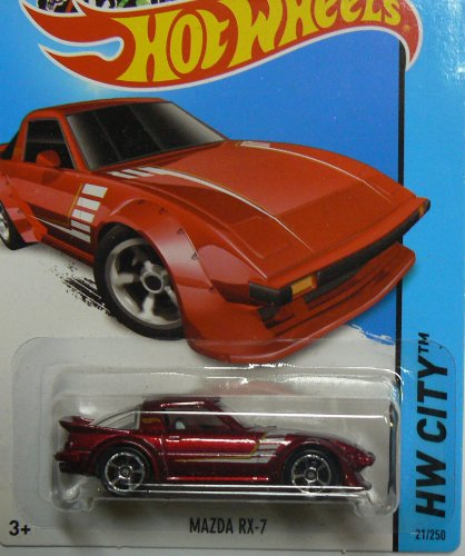 Hot Wheels HW City 21/250 - Mazda RX-7 - 1