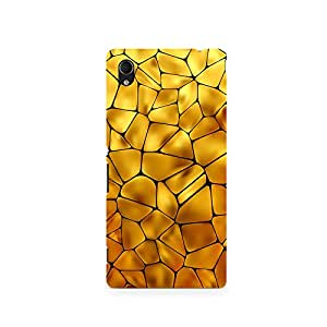 TAZindia Printed Hard Back Case Cover For Sony Xperia Z5