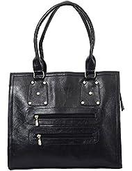 Bagaholics Shoulder Tote Hand Bag Birthday Gift For Women (Black)