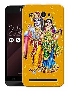 "Humor Gang Krishna Radha Printed Designer Mobile Back Cover For ""Asus Zenfone Selfie"" (3D, Matte, Premium Quality Snap On Case)"