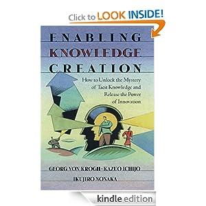 Facilitando la Creación del Conocimiento