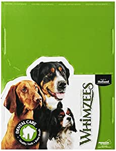 Paragon Whimzees Alligator Dental Treat for Dogs, Small, 100 Count