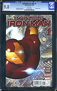 Invincible Iron Man #1 - CERTIFIED CGC 9.8