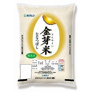 ホクレン 北海道産 金芽米無洗米ななつぼし 3kg 平成27年産