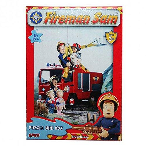 Feuerwehrmann Sam - Mini Puzzle 54 Teile - Motivauswahl, Typ:Puzzle J