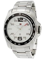 Tommy Hilfiger Tachymeter Analog White Dial Men's Watch - TH1790856J
