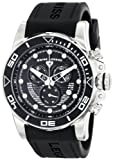 Swiss Legend Mens 21368-01 Avalanche Analog Display Swiss Quartz Black Watch