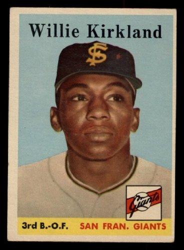 1958 Topps Willie Kirkland San Francisco Giants (Baseball Card) # 128 Dean'S Cards 5 - Ex