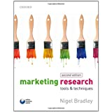 Marketing Research: tools and techniquesby Nigel Bradley