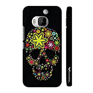 Htc One M9 Plus Pimped up Skull designer mobile hard shell case by Enthopia