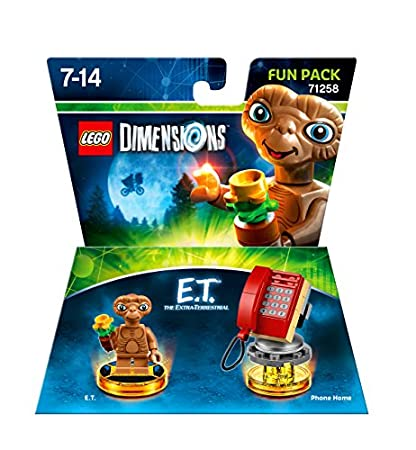 LEGO Dimensions, E.T., Fun Pack (Electronic Games)