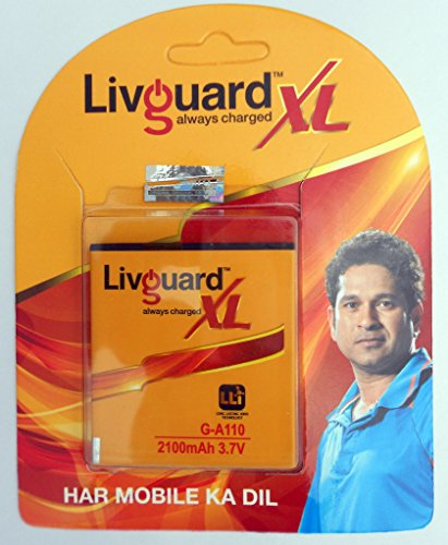 Livguard 2100mAh Battery (For Micromax Canvas A110)