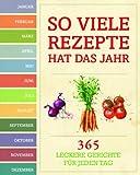 Rezepte für das ganze Jahr: 365 Rezepte für das Jahr