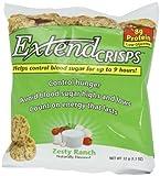 ExtendCrisps, Zesty Ranch, 1.1-Ounce Bags (Pack of 5) by Extend [Foods]