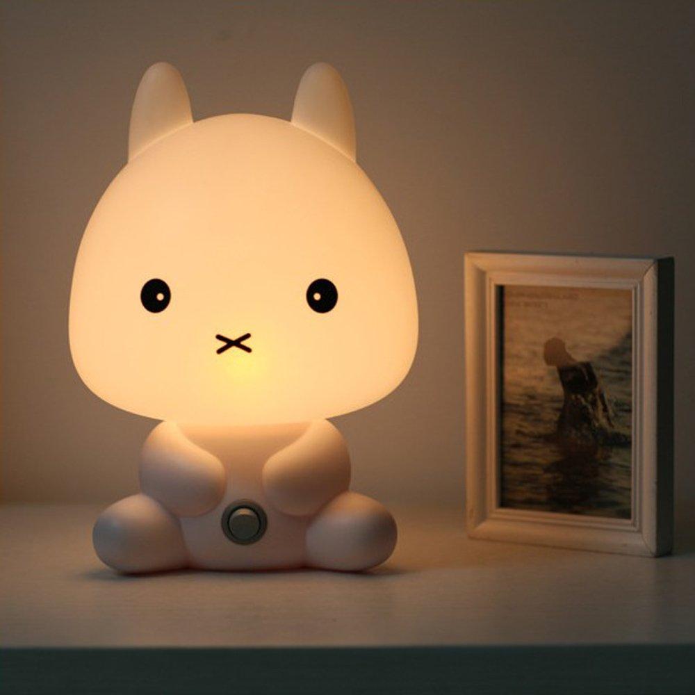Bedroom LED Rabbit Night Light Bunny