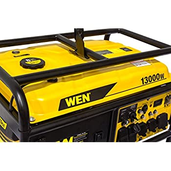 WEN 5613K 11000 Running Watts/13000 Starting Watts, Gas-Powered Portable Generator
