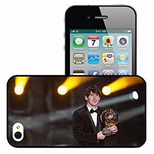 ... Cover Skin Messi Lionel Football Sport Golden Ball Argentina Black