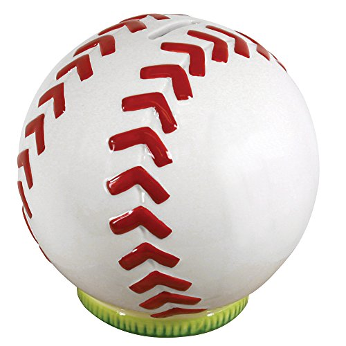 Stephan Baby Sports Fun Collection Ceramic Bank, Baseball