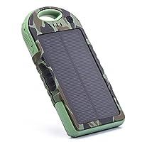 EFOSHM Portable Solar USB Charger 12000m...