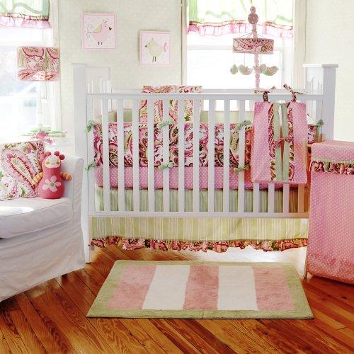 Paisley Crib Bedding Sets 3256 front