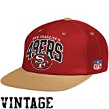 Mitchell & Ness San Francisco 49Ers Flat Brim Snap Back Hat Adjustable at Amazon.com