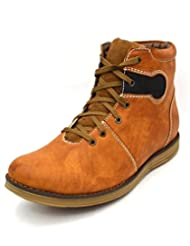 Zoot24 Men's Faux Leather Boots - B00Z76WPL4
