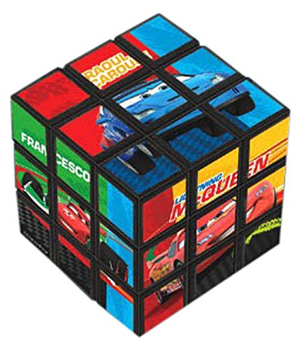 Amscan Cars 2 Party Puzzle Cube (1 Piece), Multi