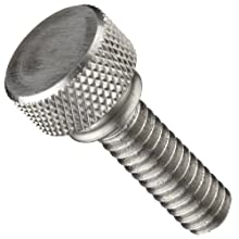 Stainless Steel Thumb Screw, Knurled Head