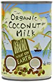 What On Earth Organic Coconut Milk 400 Ml (Pack of 6)