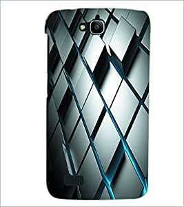 PRINTSWAG SQUARE PATTERN Designer Back Cover Case for HUAWEI HONOR HOLLY