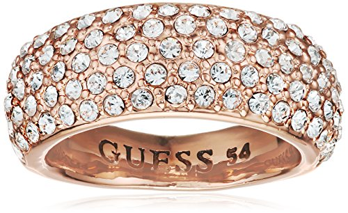 Guess Damen-Ring Metalllegierung Glas weiß Gr. 56 (17.8) - UBR51433-56 thumbnail