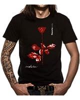 "T-Shirt Homme Noir Depeche Mode ""Violator"" (Taille S)"