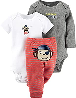 Carter's Baby Boys' 3 Piece Take Me Away Set (Baby)