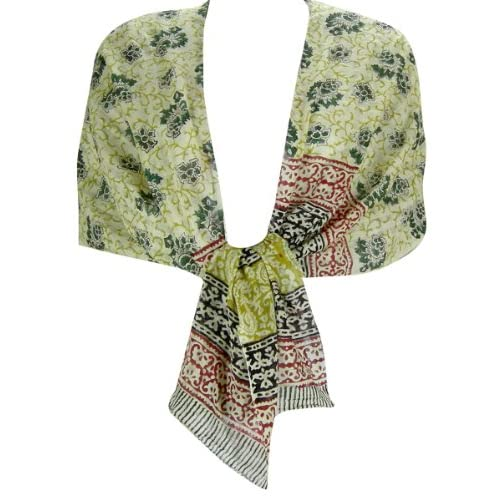 Printed Cotton Head Scarves Stole Women India Clothing Clothing Cotton Head Scarves Women