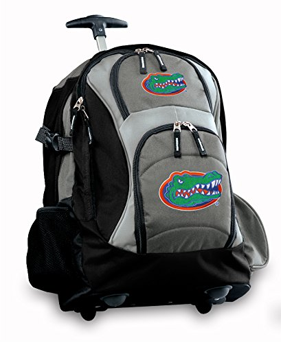 Florida Gators Rolling Backpack Deluxe Gray University Of Florida Best Backpack