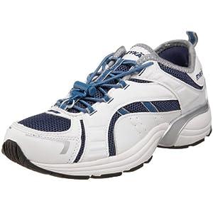 Ryka Women's Hydro Step Crosstraining Shoe,White/Midnight/Factory,6.5 M