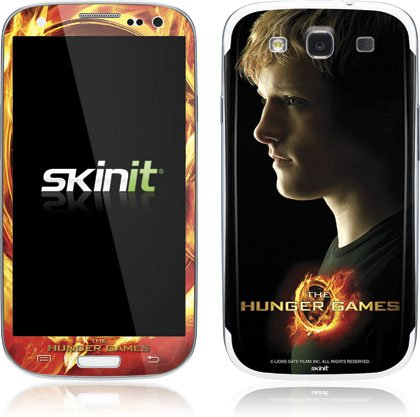 Skinit The Hunger Games -Peeta Mellark Vinyl Skin for Samsung Galaxy S III