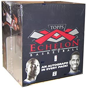 2007 08 Topps Echelon basketball Cards Hobby Box by Topps