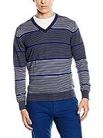 Trussardi Jeans Jersey (Azul / Gris)