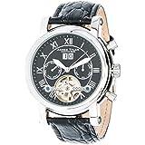 James Tyler Herren-Armbanduhr, Automatik Chronograph mit Kalender, JT700-1